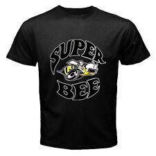Dodge Super Bee Logo Mopar Plymouth Chrysler #1 Black t-shirt size S, M, L, XL