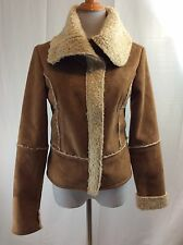 Decree Brand NWT Women's Camel Faux Suede Jacket Size M