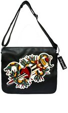 Snake Sword Skull Hand Bag Purse Tattoo Rockabilly Sourpuss Punk Messenger Goth