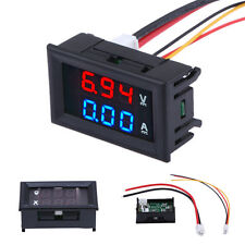 DC 100V 10A Digital LED Panel Voltmeter Ammeter Current Amp Volt Voltage Meter