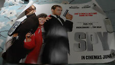 SPY  Poster UK Quad    Jason Statham, Official RARE only one on ebay