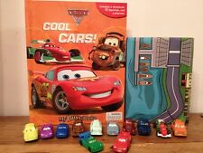 Disney Pixar Cars 2 My Busy Book + 12 Character Figurines & Playmat