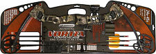Barnett Vortex Youth Archery Compound Bow, Camo 3 Arrows Adjustable Site 1105