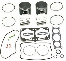 POLARIS 800 DUAL RING PISTONS 2008-10 RMK ASSAULT DRAGON TOP END REBUILD KIT