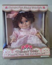Collector's Choice Poseable Bean Bag Fine Bisque Porcelain Doll New