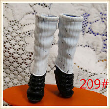 Multicolor High Heel Boot Vintage Style For Original Monster High Doll Big Value
