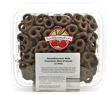 SweetGourmet Mini Milk Chocolate Covered Pretzels - 1.5Lb FREE SHIPPING!