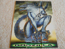 GODZILLA GLOW-IN-THE-DARK 1998 CHASE CARD SET G1 - G6 --