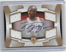 #10/25 MICHAEL JORDAN 2007/2008 ULTIMATE LEADERSHIP AUTOGRAPH QUAD JERSEY SP !