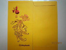 Maybank Gold Chinese New Year Ang Pow/Gold Money Packet 2pc