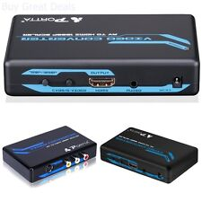 Gaming Systems to HDMI Converter Upscale, Retro Gaming on HDTV - New
