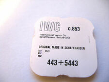 IWC INTERNATIONAL 851,852,853,8521,8531 SETTING LEVER + SCREW PART 443 /5