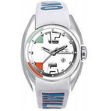 Chronotech Kids CT.7704B/27 Leather Date Quartz Watch with Milano Strap