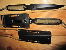 2 Stück Fox Outdoor Messer Neck Knife Arbeitsmesser Halsmesser Jagd Fingermesser
