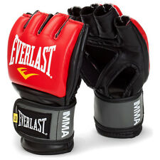 Everlast MMA Gloves Fight Sparring Cage Mixed Martial Arts Gloves S Size Red
