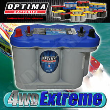 OPTIMA BLUE TOP BATTERY 12 VOLT NEW AGM D27M 800CCA DEEP CYCLE MARINE DUAL BOAT