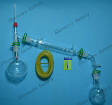500ml,24/40,Distillation Apparatus,Laboratory Glassware set,lab glassware kit