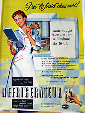 REFRIGERATEUR BILL WIRTS DIVERS 17 ILLUSTRATION  ANCIENNE