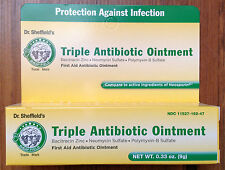 TRIPLE ANTIBIOTIC OINTMENT TREATS CUTS, SCRAPES AND BURNS