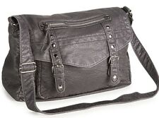 AEROPOSTALE Aero Faux Leather Messenger Bag Shoulder Handbag Purse NEW NWT