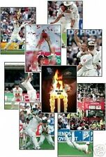 Angleterre 2005 Ashes Cricket gagnants 13 trading card set