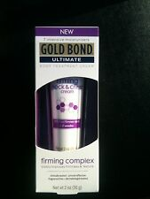 Gold Bond Ultimate Firming Complex  Body Treatment Cream 2oz for neck and chest