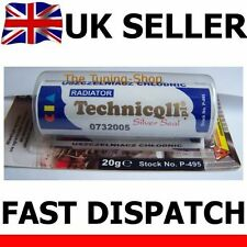 SEALANT SILVER SEAL FOR CAR & TRUCK COOLERS ENGINE BLOCKS HEADS 20g TECHNICQLL