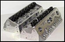 AFR CHEVY SBC 406-434 ELIMINATOR HEADS 220cc 75cc FULLY BUILT PAIR # 1066-HR-75