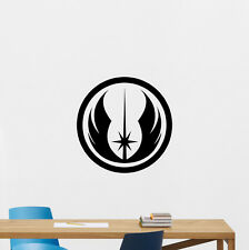 Jedi Star Wars Wall Decal Logo Poster Nursery Vinyl Sticker Kids Decor 215hor