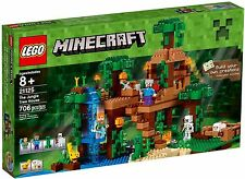 LEGO Minecraft The Jungle Tree House 21125 New