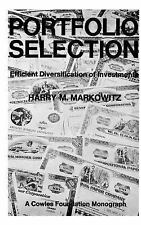 Portfolio Selection: Efficient Diversification of Investments (Cowles Foundatio