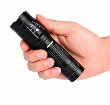 LED Flashlight Military ShadowHawk Torch without BOX to keep the postage Low