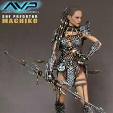HOTTOYS HOT TOYS AVP SHE PREDATOR MACHIKO MMS74 FIGURE 1000% GENUINE ES AQ1206
