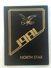 Vintage 1981 Yearbook from Northview Junior High School in Indianapolis, IN - Th