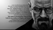 "058 Breaking Bad - White Final Season 2013 Hot TV Show 43""x24"" Poster"