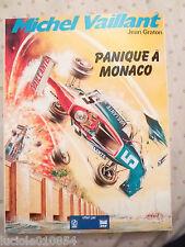 BD  Michel Vaillant  Panique à Monaco N° 4   Graton  Elf & Antar