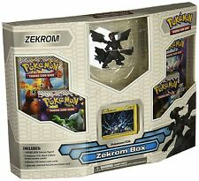 RARE Pokemon TCG Black & White ZEKROM Box Booster Set + Figure  NEW free ship