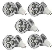 Hot Sale Lot10 3W 12V LED Light Bulb Lamp MR16 GU5.3 Natural White Spotlight