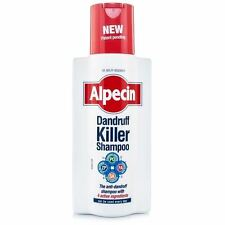 ALPECIN DANDRUFF KILLER SHAMPOO WITH 4 ACTIVE INGREDIENTS - 250ML *