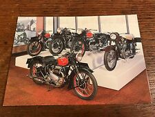 Vintage Ariel Square Four Models National Motorcycle Museum Postcard