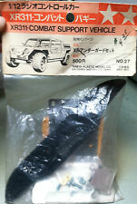 Vintage Original Tamiya XR311 Combat Vehicle Underguard and bumper