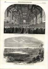 1862 Lord Chancellor Receiving Judges Middle Temple View Of Darmstadt