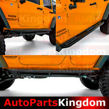 07-17 Jeep JK Wrangler 4 Door Rock Crawler Side Slider Step Star Armor Guards