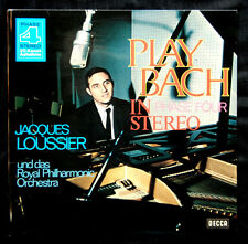 """JACQUES LOUSSIER / ROYAL PHILHARMONIC ORCHESTRA  - """" PLAY BACH """""""
