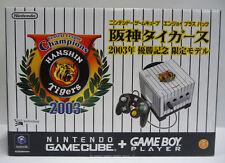 CONSOLE NINTENDO GAME CUBE HANSHIN TIGERS 2003 W/Hanshin Tigers Uniform JAP NEW