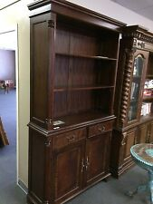 Handsome Flame Mahogany Bookcase matches partner desk