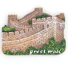 The Great Wall China Beijing Travel Souvenir 3D Resin Fridge Magnet Collectibles