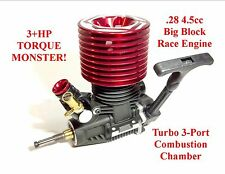 3HP 1/8 .28 Nitro TURBO Engine Motor Losi 8ight T HPI Savage X SS 4.6 5.9 XL LST