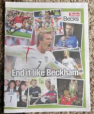 Final como Beckham David Beckham Recuerdo Homenaje Manchester United Real Madrid