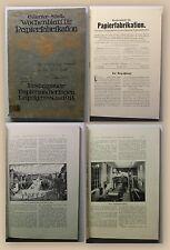 Staib Wochenblatt für Papierfabrikation 1914 Geschichte Papier Industrie xy